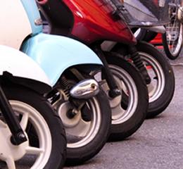 レンタルバイク利用可